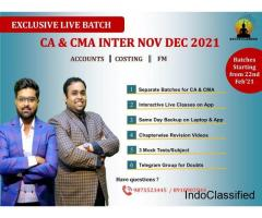 CA CMA INTER ACCOUNTING CLASSES by Navin Classes in Kolkata