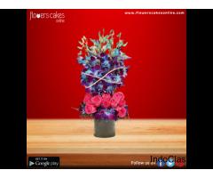 Send Purple Flowers in India, Order Purple Flowers
