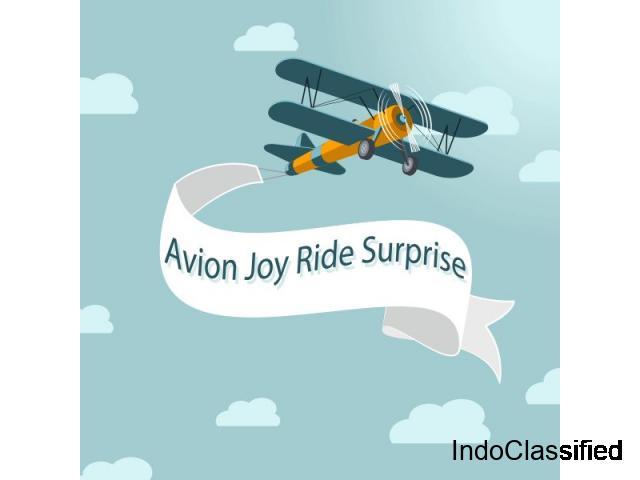 Joy Ride In Hyderabad, Surprise In the Sky with Joyride | Bookthesurprise