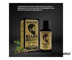 Cedar Wood Beard Oil - Mancode