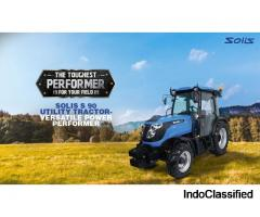 Solis S 90 Utility Tractor – Versatile Power Performer