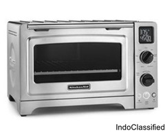 KitchenAid KCO273SS 12″ Convection Bake Digital Countertop Oven – Stainless Steel