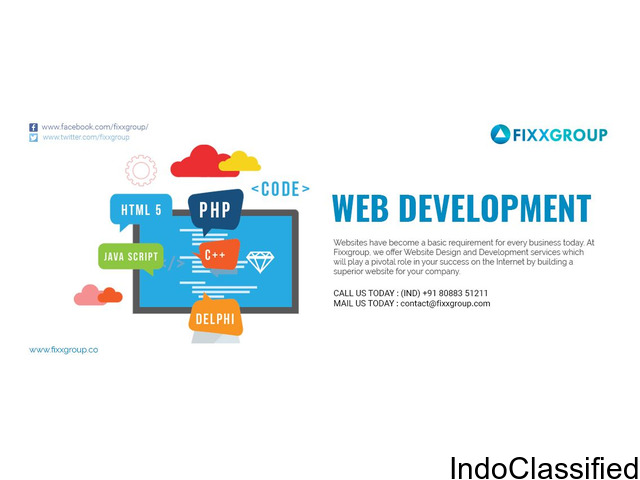 Website Design and Development Services in kolkata