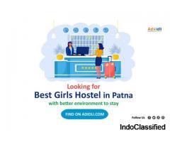 Fully Furnished Girls Hostel in Patna