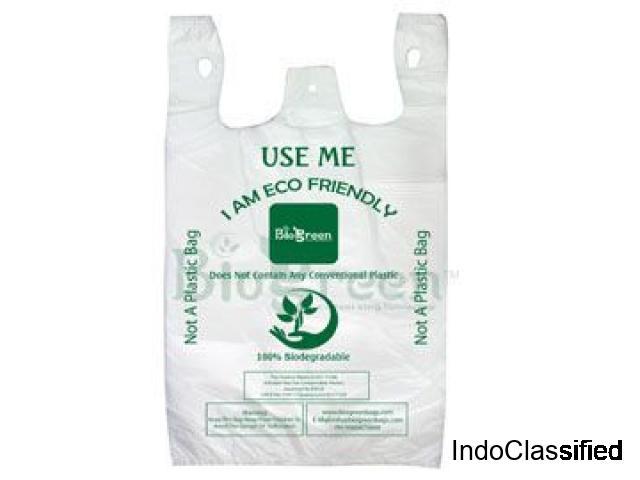 Biodegradable plastic bags manufacturer in India - Biogreen Bags