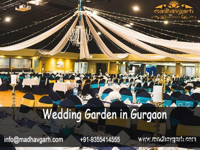 Royal Wedding Garden in Gurgaon - MadhavGarh Farms