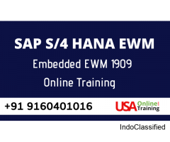 SAP S4 HANA EWM Online Training by USAOnlineTrainings.Com