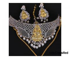 Trendy Designer Choker Necklace Shop - New Hyderabad Pearls