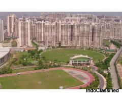 Gaur City 7th Avenue 2 BHK floor plan offers 2 Bedrooms, 2 bathrooms, and 2 balconies