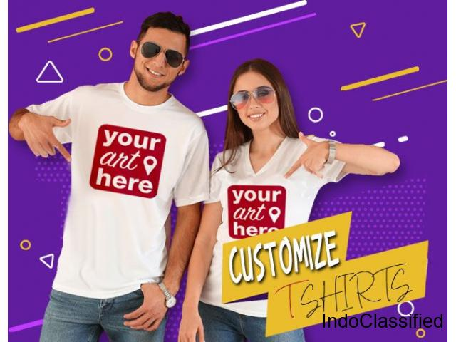 Created Custom Printed T Shirts Online | Design Your Own T Shirt Online India