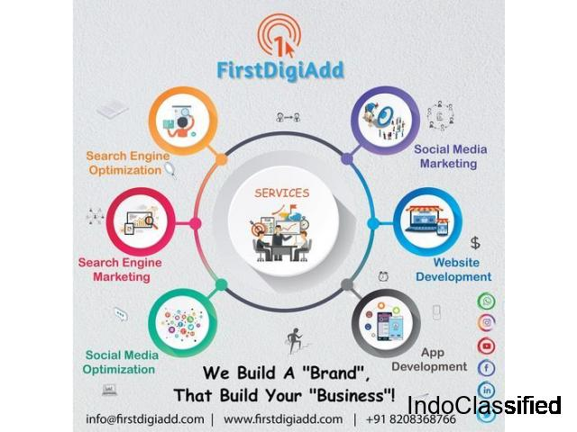 Avail the Best Digital Marketing Services by First DigiAdd and See Your Business Grow