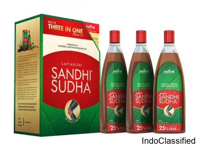 Most Trusted Pain Relief Oil - Saptarishi Sandhi Sudha - 1