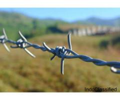 Barbed Wire Fencing Manufacturers Bharat Fencing