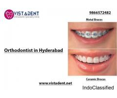 Orthodontic Treatment in Hyderabad - Vistadent