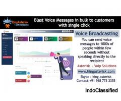 Voice Broadcast Solutions - Kingasterisk Technologies