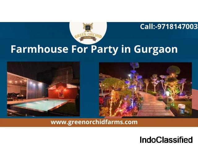 Farmhosue for party in Gurgaon adventures