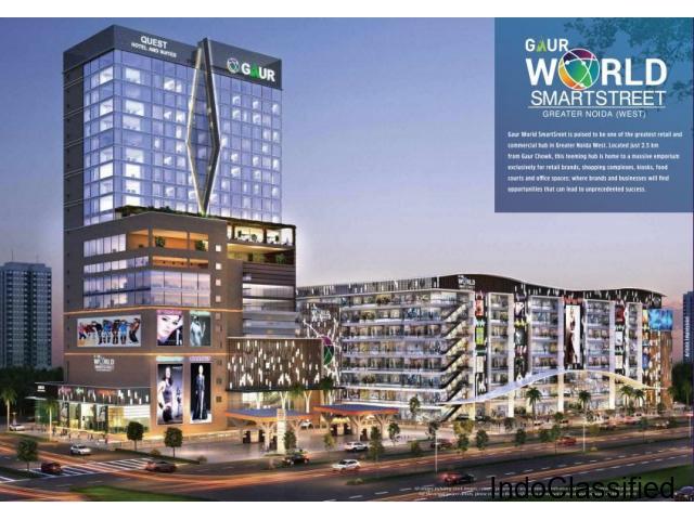 Gaur World SmartStreet Best Commercial Hub for Retail Business