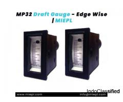 MP32 Draft Gauge - Edge Wise | MIEPL
