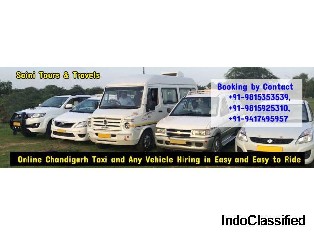 Tempo traveller service in Mohali - Saini Tour and Travels