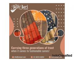 Buy Kota Silk Saree | Kota Silk Sarees | Pure Kota Silk Saree | Jain Jari Store