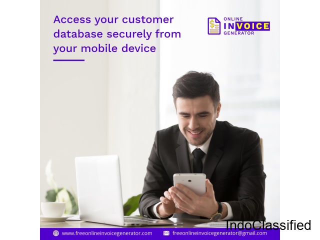 Access your customer database securely from your mobile device