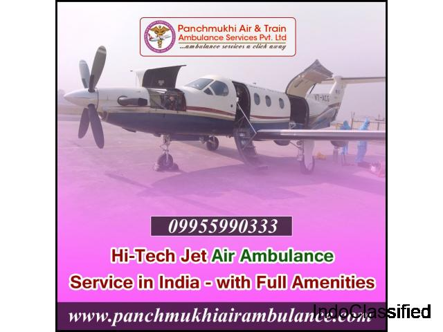 Best Medical Solution in Panchmukhi Air Ambulance Service provider in Delhi