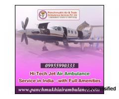 Best Medical Solution in Panchmukhi Air Ambulance Service provider in Delhi