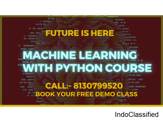 machine learning training in Gurgaon
