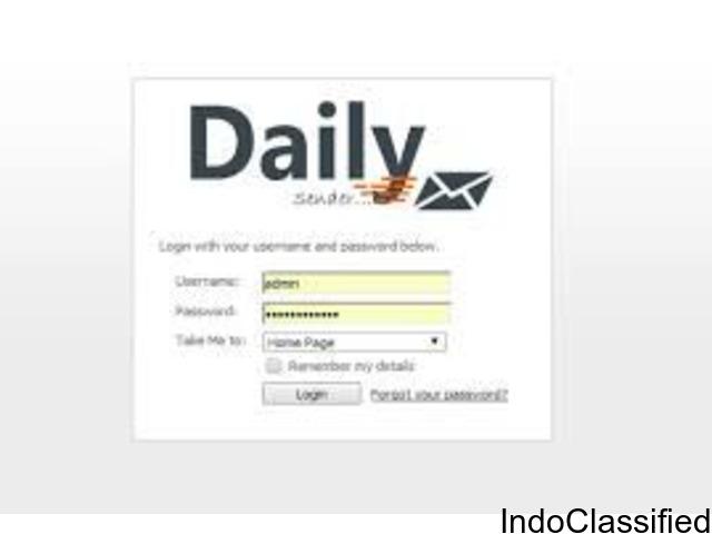 Daily Sender Bulk Email Services