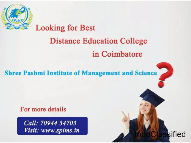 Best Distance Education College in Coimbatore