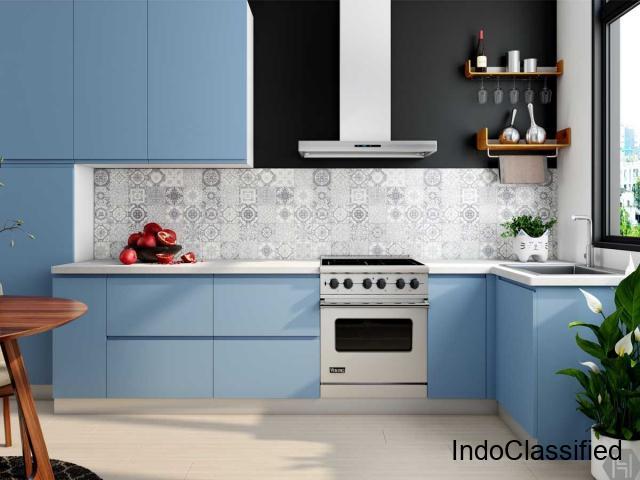 Latest Inline Shaped Kitchen Designs In Gurgaon