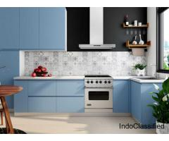Latest Inline Shaped Kitchen Designs In Gurgaon