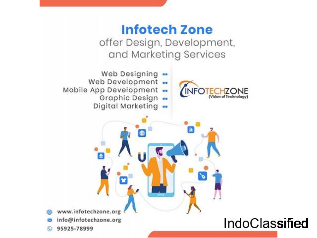 Top website development company in Ludhiana - Infotech Zone