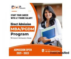 Direct Admission in Top MBA Colleges in India