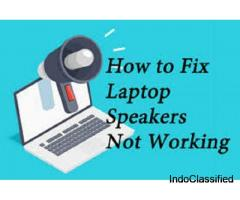 Call : +1 2176364745 Fix Laptop Speakers not working