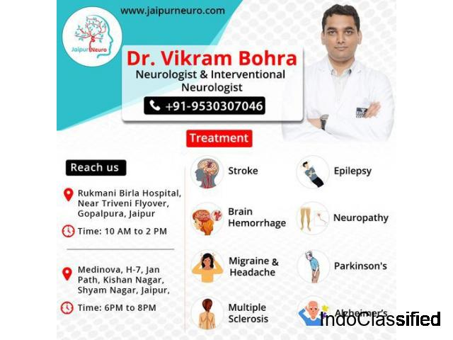 Get successful stroke treatment with Dr. Vikram Bohra Neurologist in Jaipur.