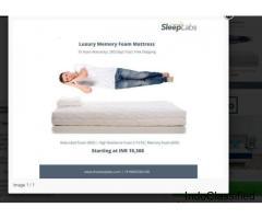 India's Best Luxury Orthopedics Mattress | Memory Foam Mattress - SleepLabs