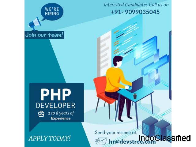 Job Openings for PHP Developer   Ahmedabad, India
