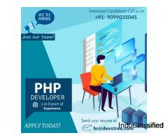 Job Openings for PHP Developer | Ahmedabad, India