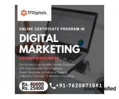 Best Digital Marketing Courses In Pune With 100% Industry Focus, Internships And Live Projects