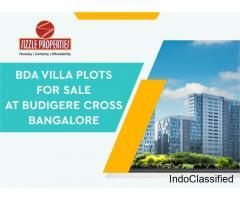 Residential villa plots at Budigere Cross Bangalore