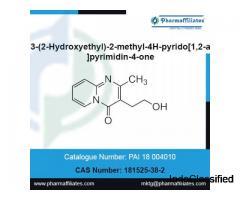 3-(2-Hydroxyethyl)-2-methyl-4H-pyrido[1,2-a]pyrimidin-4-one | CAS No : 181525-38-2