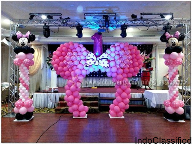 Birthday organizers in Bangalore | birthday party planners in bangalore