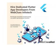 Hire Dedicated Flutter App Developers