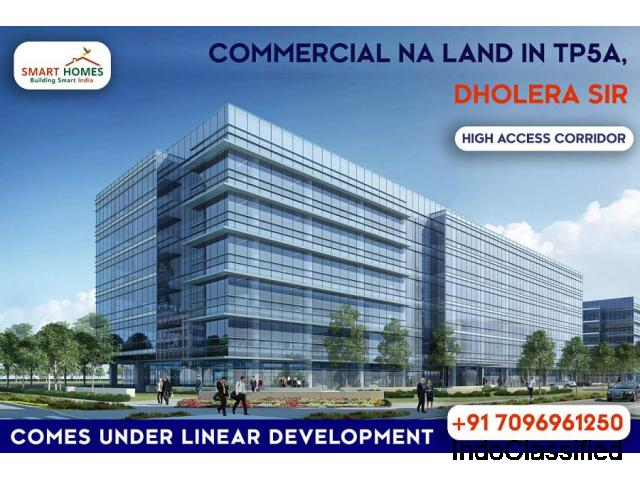 Commercial NA Land In Dholera Sir Close To 55 Meter Wide TP Road