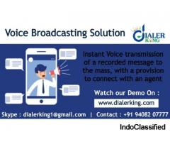 Voice Broadcast Solutions - Dialer King