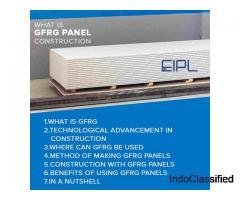 GFRG Panel Construction | EIPL Infra