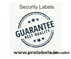 Customized Brand Security Labels by Prolabels   Stickers Manufacturers in India   Paper Labels