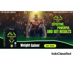 Increase Your Weight in Ayurvedic Way. Take Ashwarin Plus Powder