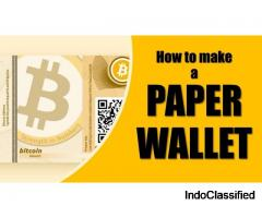 Create Best Bitcoin Paper Wallet Online